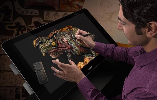 Plasma tu creatividad con Wacom Cintiq 27QHD Touch