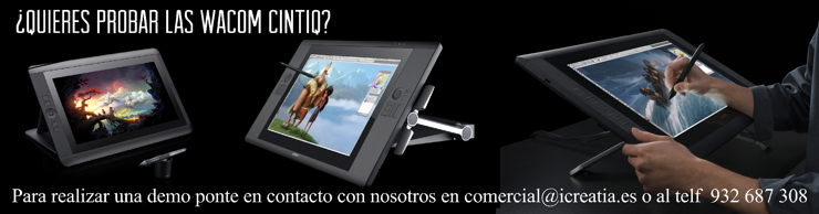 Wacom Cintiq icreatia.es